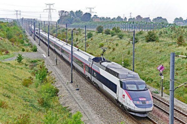 TGV trein naar Frankrijk