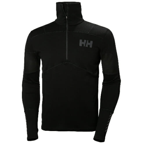 review helly hansen lifa merino hybrid top