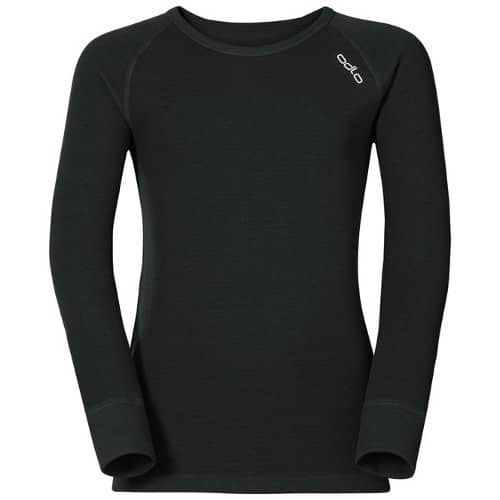Zwarte thermoshirt voor kinderen