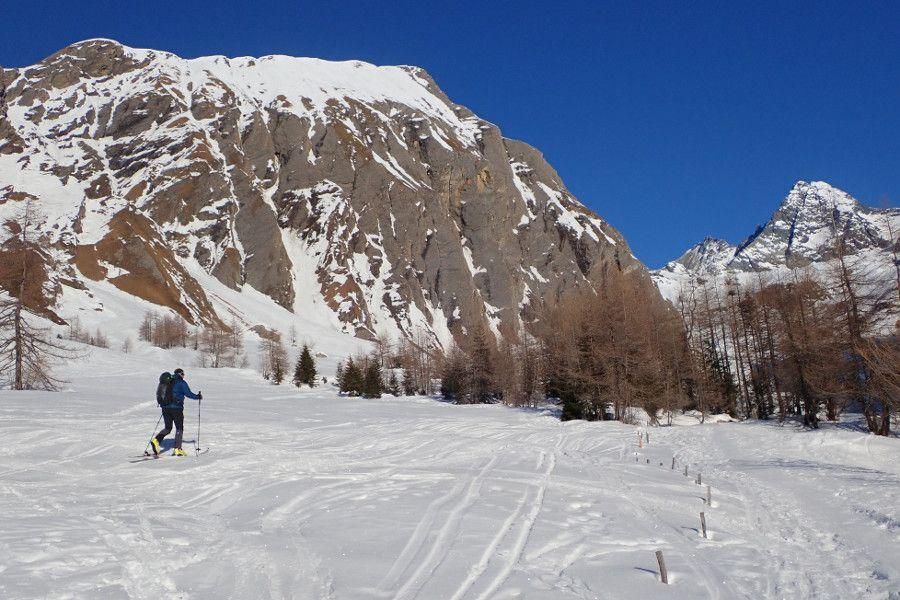 toerskien in het nationaal park Oost tirol