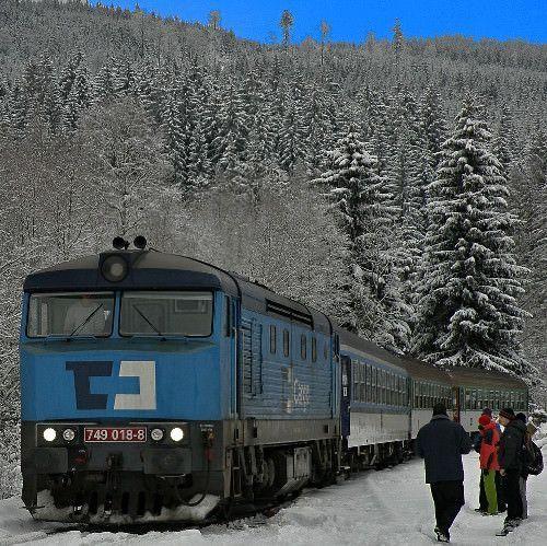 Met de trein op wintersport - alle informatie en reisschema's