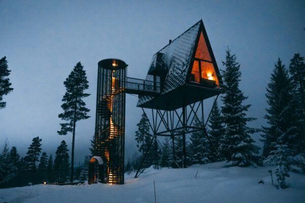 Deze accommodatie in de Noorse wildernis moet op de bucketlist