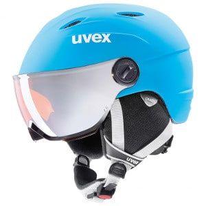 Uvex - skihelm met vizier voor kinderen