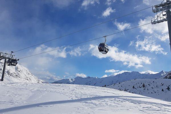 Skigebied Val Senales, Schnalstaler gletsjer in Italie