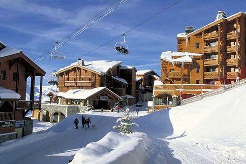 Geweldig mooie impressie van Wintersport in Val Thorens Frankrijk