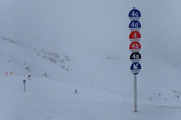 veel variatie in skigebied Schlick