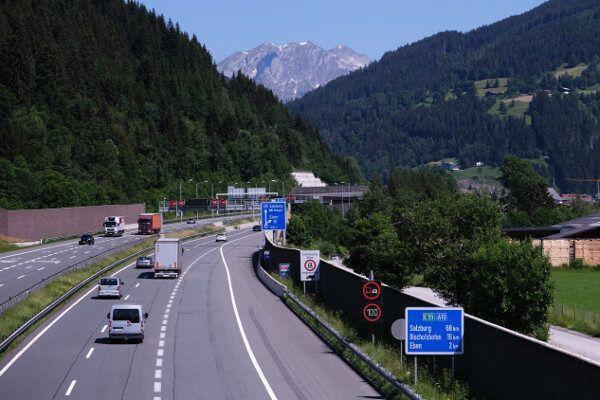 beste route naar Oostenrijk