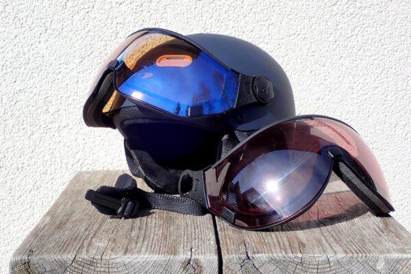 Los vizier voor skihelm kopen en vervangen