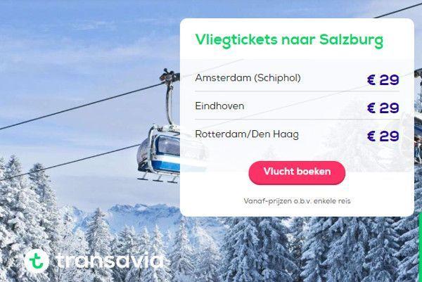 vliegen naar oostenrijk: salzburg vanaf 29 euro