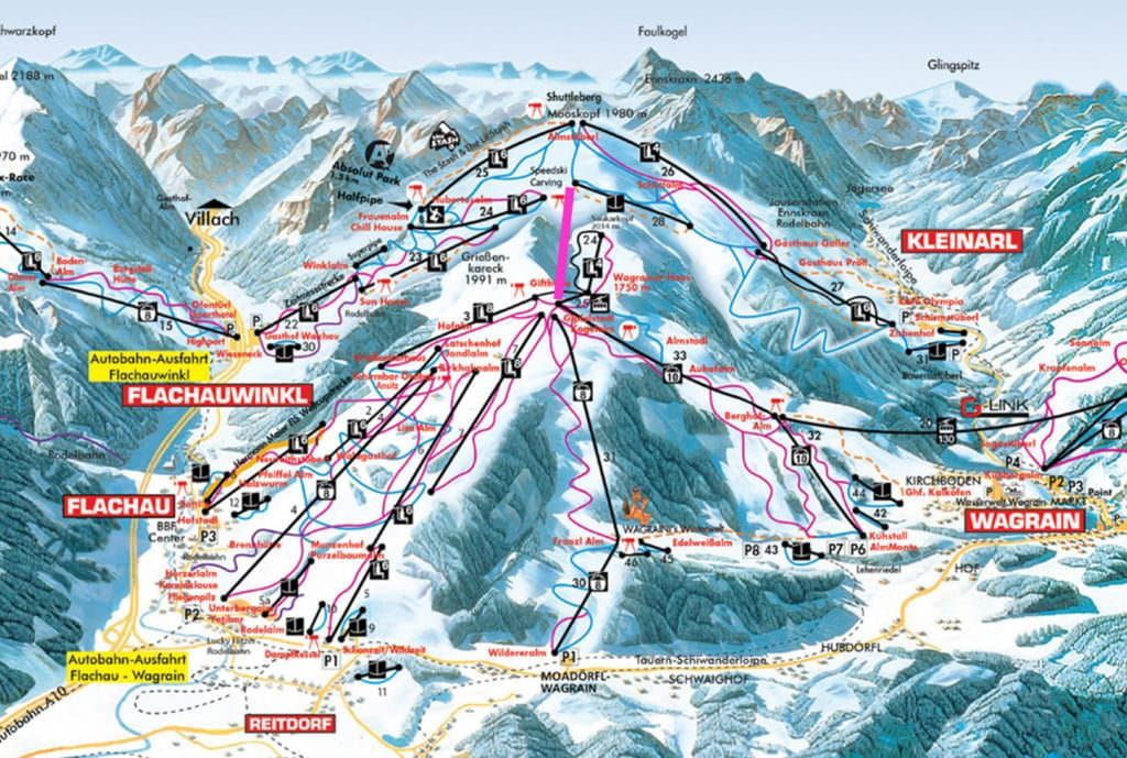 Wagrain - Kleinarl skilift