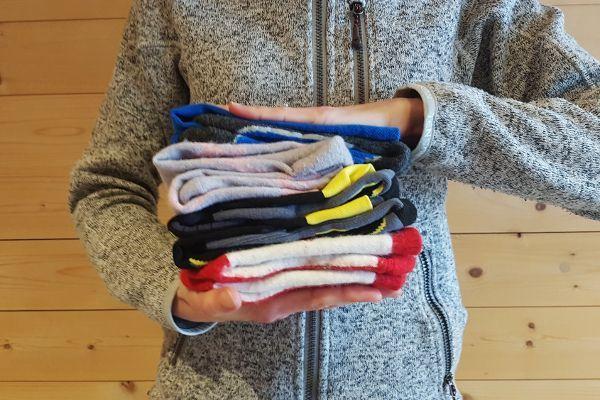 wassen van skisokken