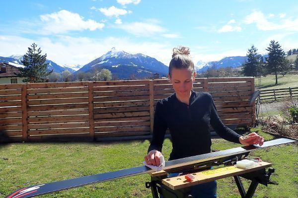 Ski's waxen: met deze tips kan je het zelf