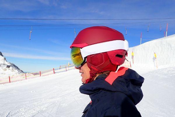 decathlon skihelm en skibril
