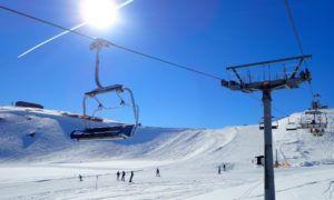 Winterbeelden: zo mooi is skigebied Wildkogel in maart