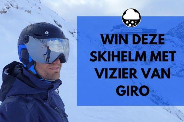 Winnen! Giro Essence skihelm met meekleurend vizier