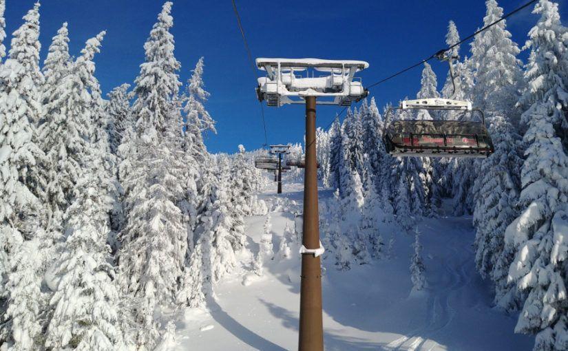 Winter, sneeuw, skilift monte popolo, eben