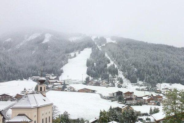 Flachau ziet er winters uit.