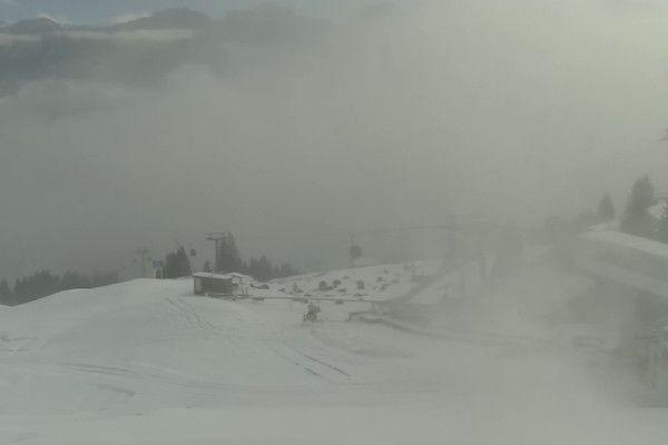 Live sneeuw in Oostenrijk