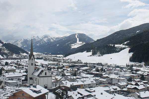 Winterbeelden: Koning winter terug in Oostenrijk