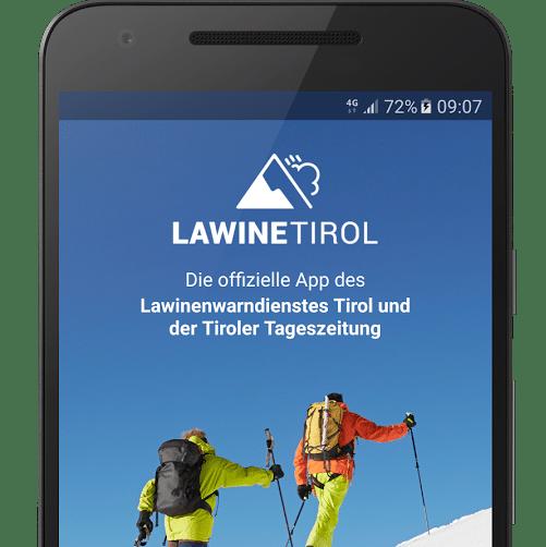 Lawine tirol ski app