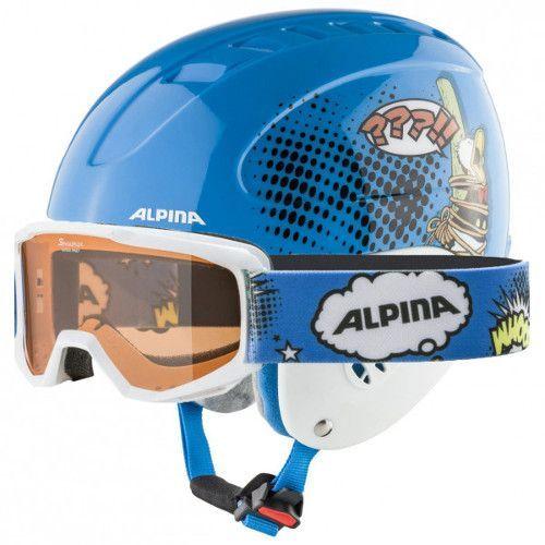Skibril en helm cadeau geven