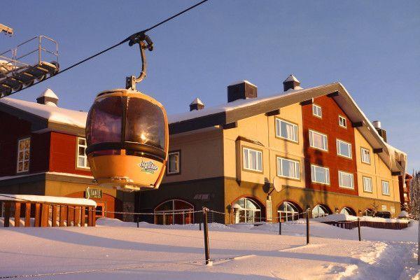 Wintersporten in Canada - big white