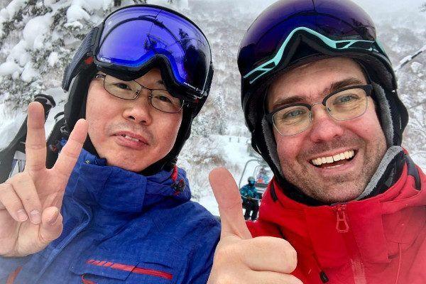 Wintersport Japan: skiles