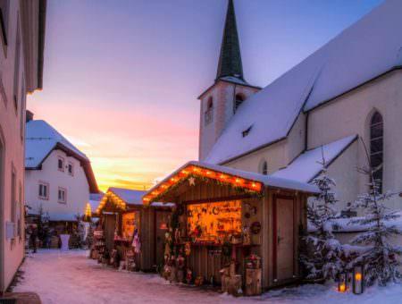 Op wintersport tijdens de kerstvakantie in Oostenrijk