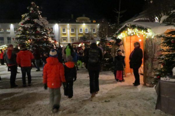 Wintersport kerstvakantie - een bezoek aan de kerstmarkt