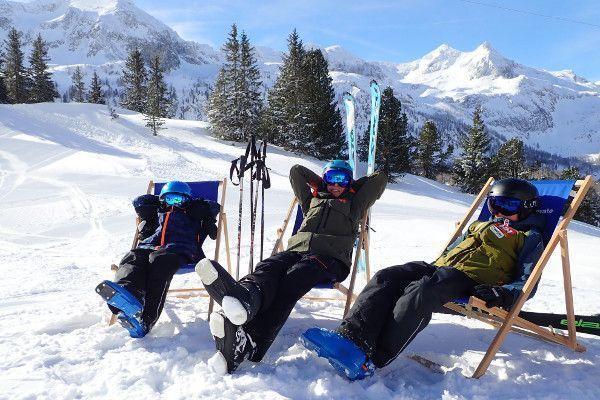 Wintersport eind maart: Genieten van de zon in skigebied Obertauern