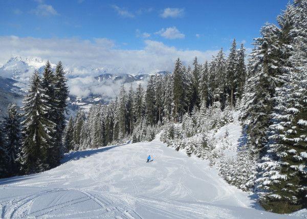 Wintersport in Maart - lekker rustig op de piste