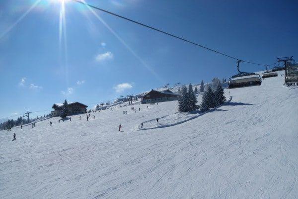 Wintersport met vrienden in Flachau