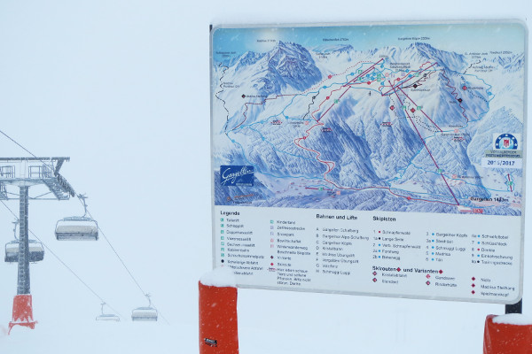 Gargellen in skigebied Montafon