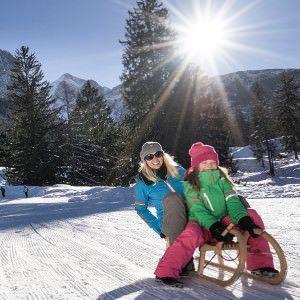 Lermoos, kindvriendelijke wintersport dorp