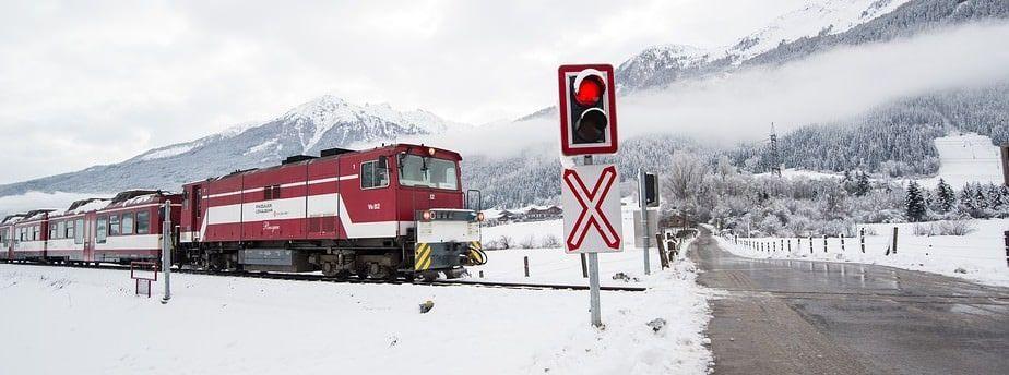 Wintersport Oostenrijk - trein