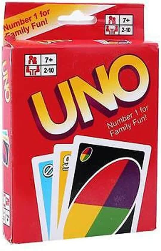 Wintersport spel 1: Uno