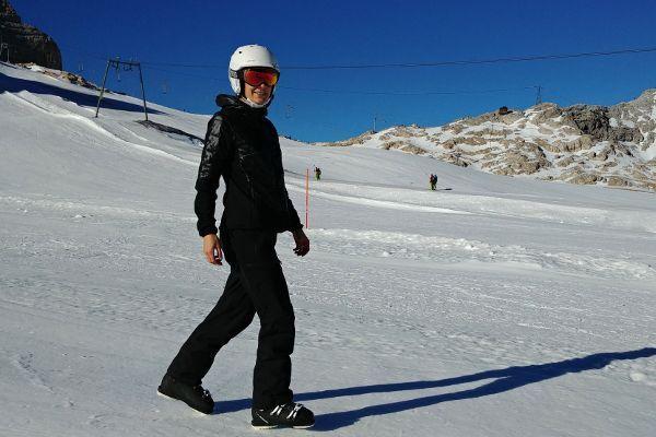 zonnebrand wintersport skibril tegen zon