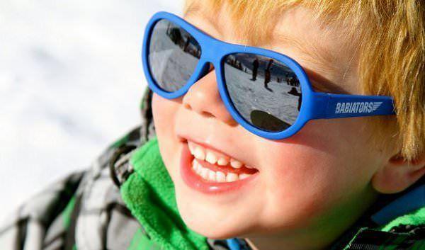 ski zonnebril kind