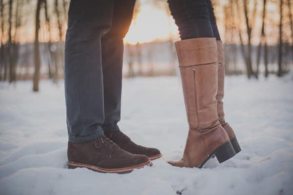 op wintersport met liefde