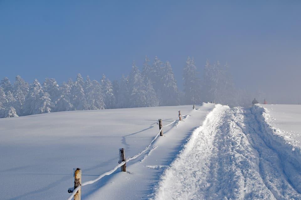 Een mooie plek om te gaan winterwandelen in Oostenrijk