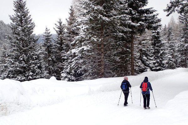 Winterwandelen in Schlick 2000 Stubaiertal
