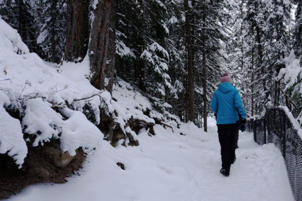 Winterwandelen in Canada