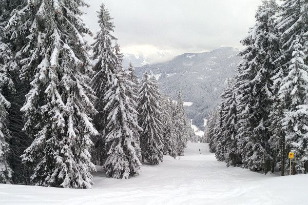 Witte kerst in Eben 25-12-2018