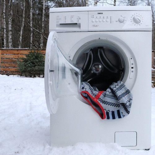 Wollen kleding wassen in de wasmachine