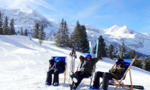 Wintersport in de meivakantie