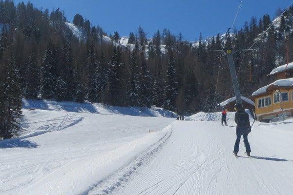 Wintersport in april